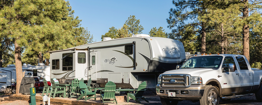 Deluxe Patio RV Site - Large
