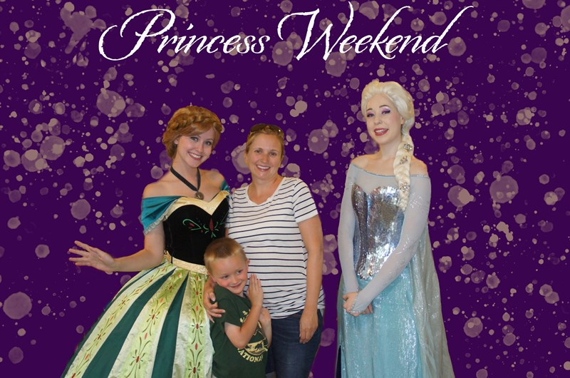 Princess Weekend Photo