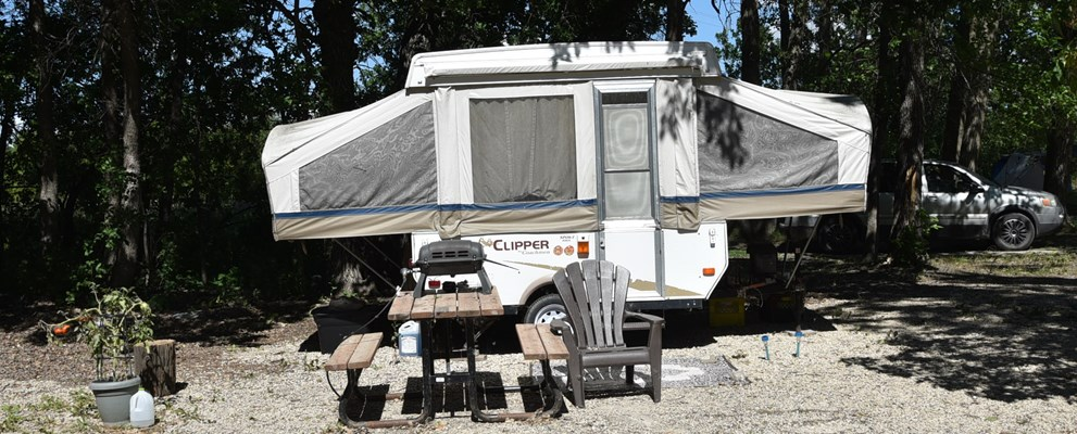 tenting/rv with electric