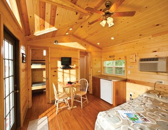 Interior of Studio Lodge