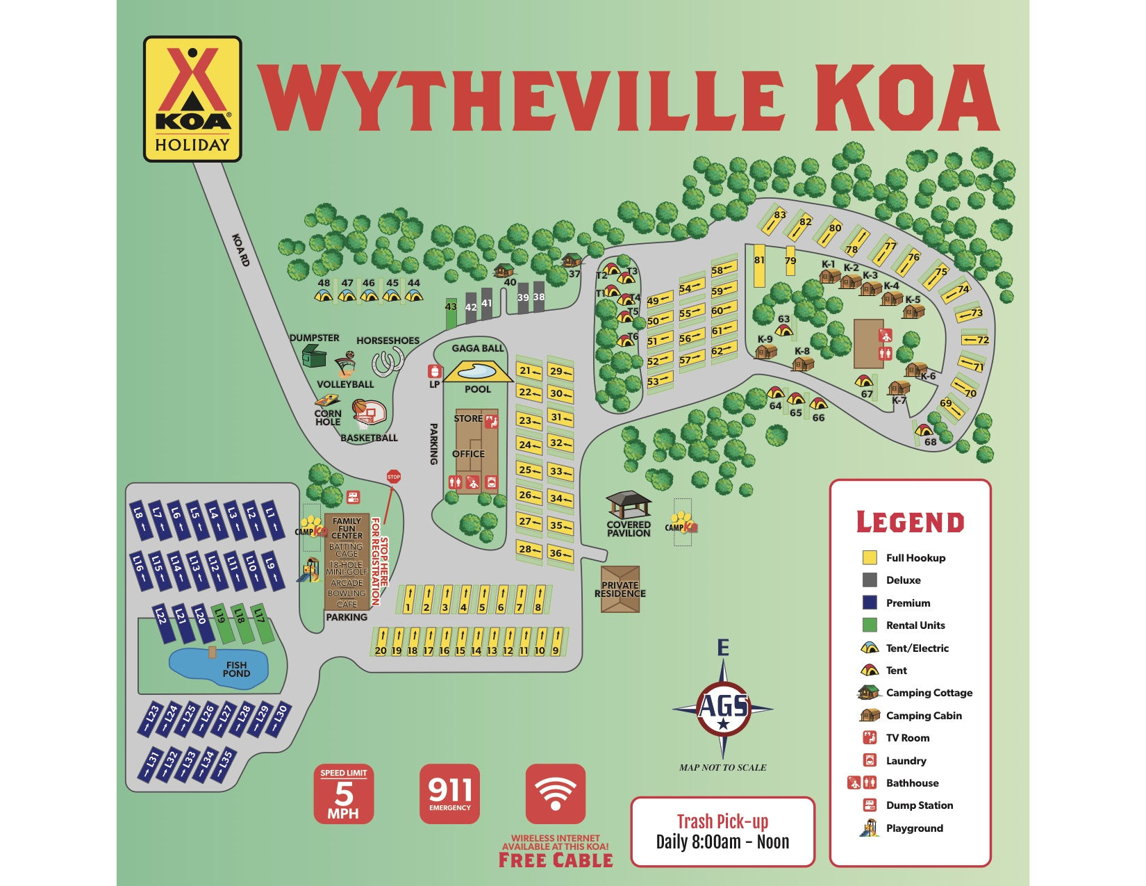 Wytheville, Virginia Campground | Wytheville KOA on fll map, slc map, route map, coarsegold california map, zip code map,