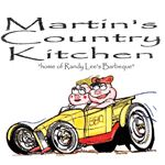 "Martin's Country Kitchen ""Home of Randy Lee's Barbeque"""