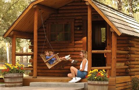Camping cabin rentals koa campgrounds