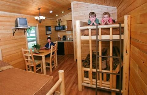 koa cabin plan