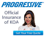 Progressive Insurance: Official Insurance of KOA