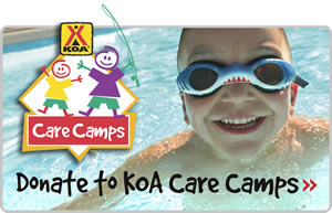 Please donate to KOA Care Camps