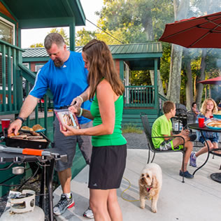 Deluxe Cabin Rentals | Luxury Cabin Camping at KOA Campgrounds