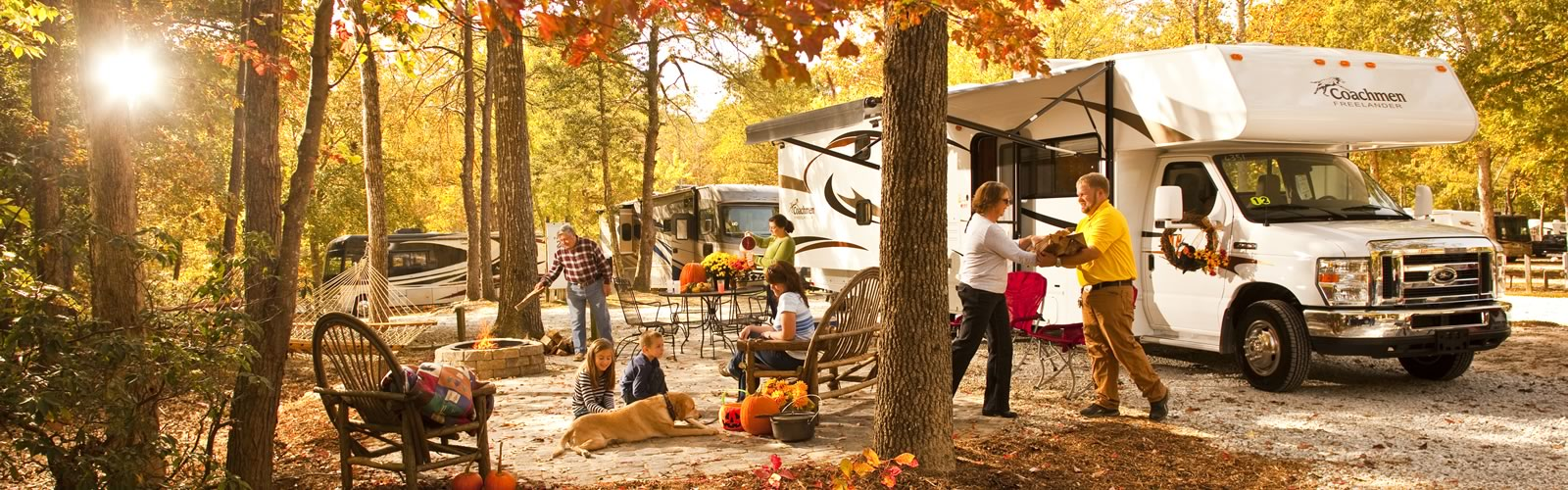 Extended camping season - when you camp in your RV you extend your camping season even longer. The RV heater lets you start your camping season earlier in the year and stay longer into the fall