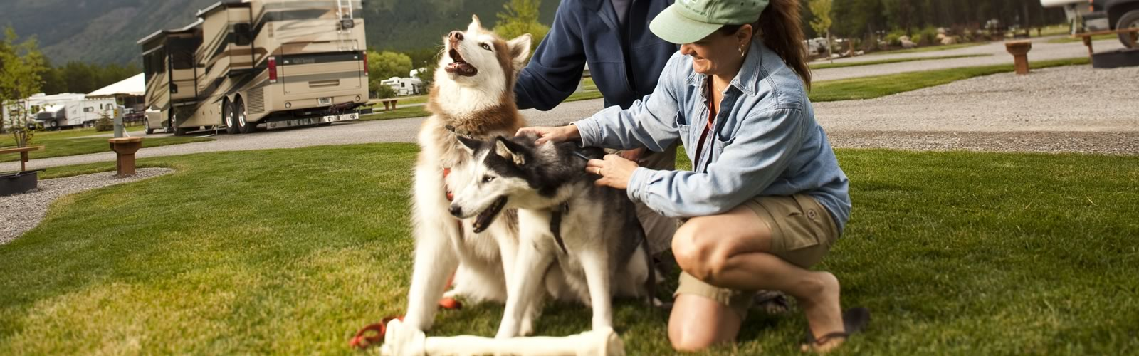 Pet Friendly - Camping in your RV is a sure way to be able to bring along your furry family member. Some campgrounds may restrict pets in cabins, but your RV is a pet-friendly zone. KOA Campgrounds are pet friendly