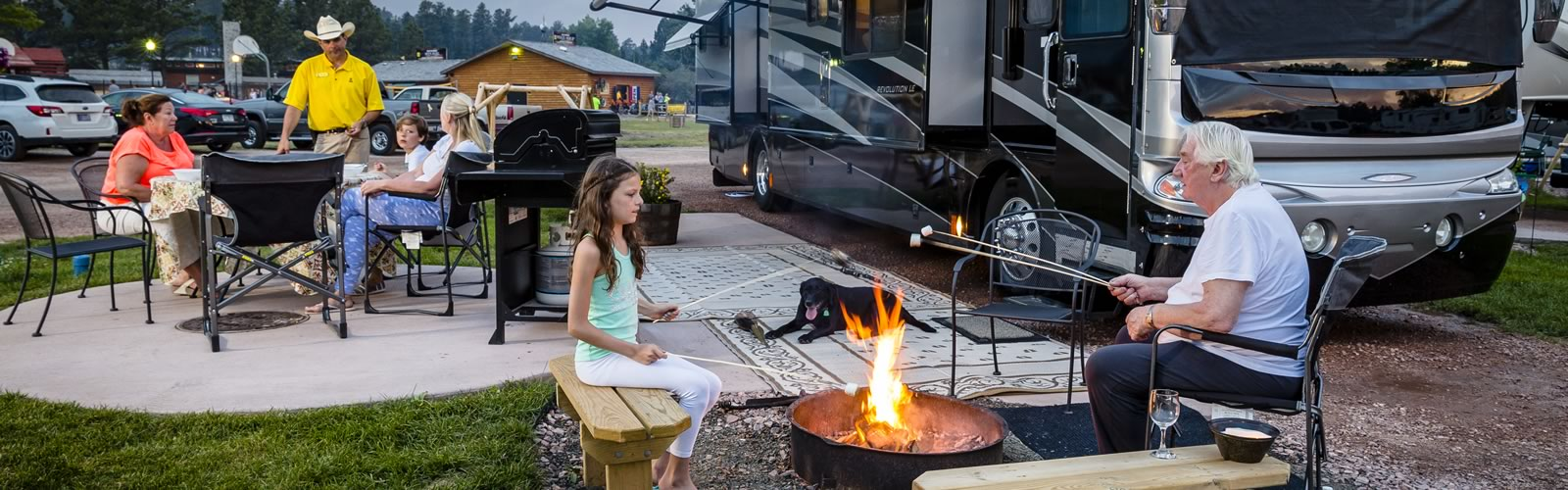 Reserving an RV Site - With over 60000 at our campgrounds youre sure to find an RV spot perfect for your upcoming getaway reservations are easy