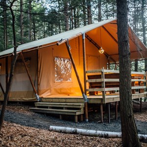 Unique Camping Lodging | Airstream Camping Rentals, Teepees